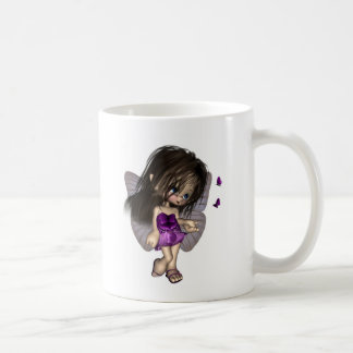 Toon Butterfly Fairy - Purple Coffee Mug