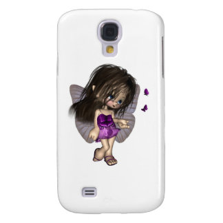 Toon Butterfly Fairy - Purple Samsung Galaxy S4 Case