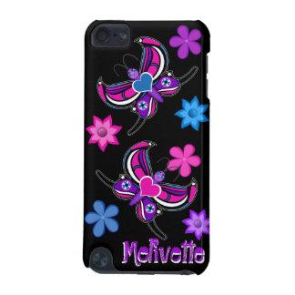 Toon Butterfly & Flowers iPod Case