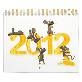 toon calender just with funny mice wall calendars