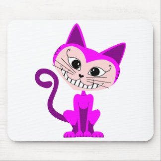 Toon Cheshire Cat - Alice in Wonderland Mouse Pad