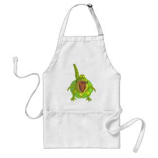 toon croc adult apron