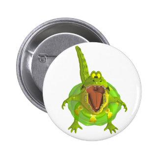 toon croc pinback buttons