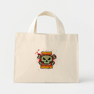 Toon Death Mini Tote Bag
