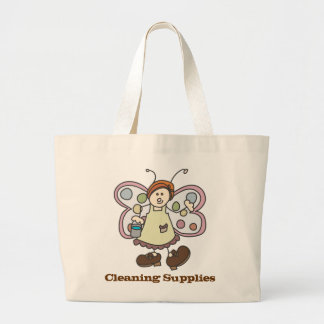 """Toon Fairy Bug Lady """"Cleaning Supplies"""" Tote Bag"""
