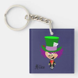 Toon Mad Hatter - Alice's Adventures in Wonderland Keychain