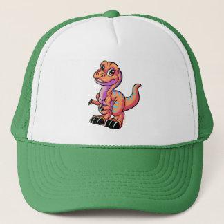 Toon rex orange hat