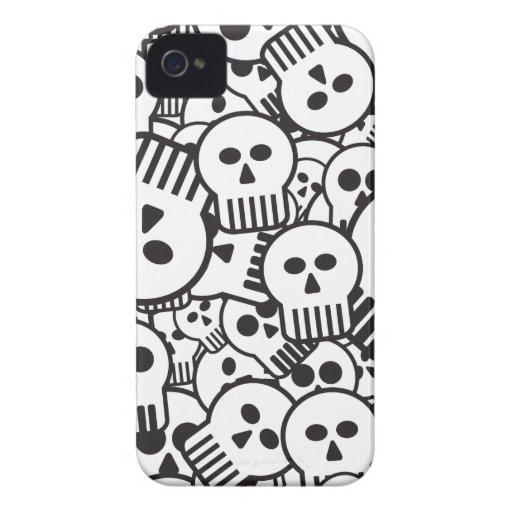 toon skulls iPhone 4 cover
