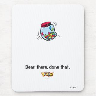 Toon Town's Gag Jelly Bean Logo Disney Mouse Pad