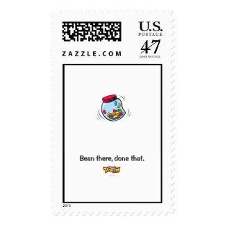 Toon Town's Gag Jelly Bean Logo Disney Postage