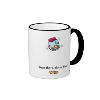 Toon Town's Gag Jelly Bean Logo Disney Ringer Mug