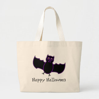 Toon Vampire Bat Halloween Trick Or Treat Bag