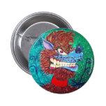 Toon Wolf Pins