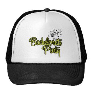 ToonDoveBachelorettePartyYlw Trucker Hat