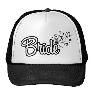 ToonDoveBrideWht Trucker Hat
