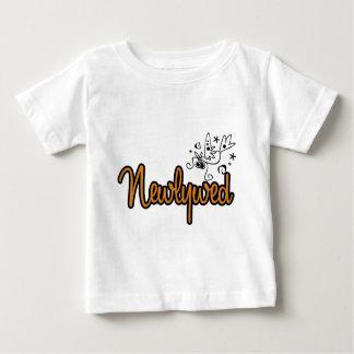 ToonDoveNewlywedOrange Baby T-Shirt