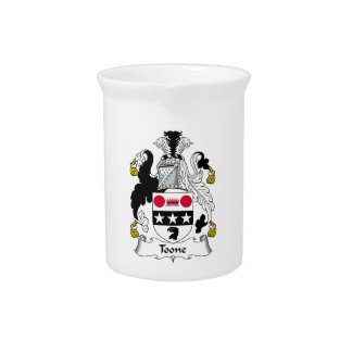Toone Family Crest Pitcher