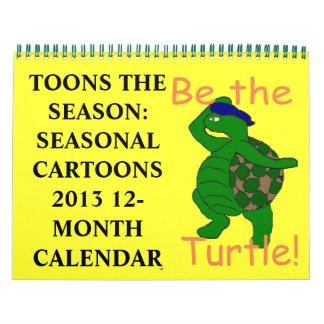 Toons el calendario de la estación 2013