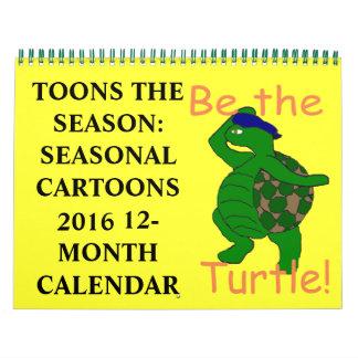 Toons the Season Calendar