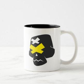 ToonSkull Two-Tone Coffee Mug