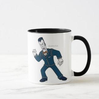Toontown Cog shouting Disney Mug