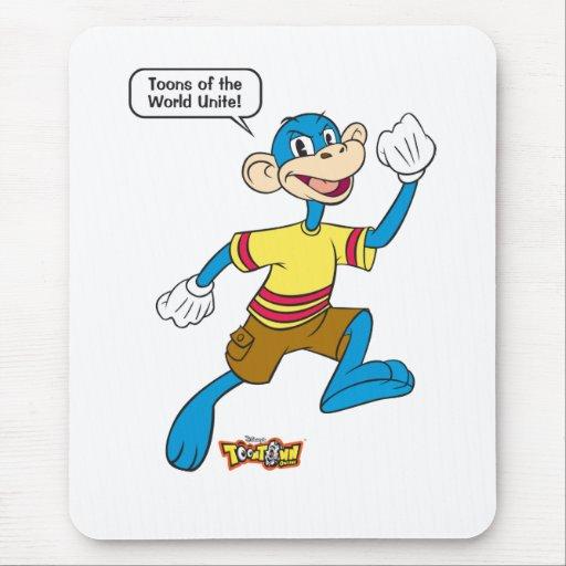 Toontown de Disney en línea Alfombrillas De Raton