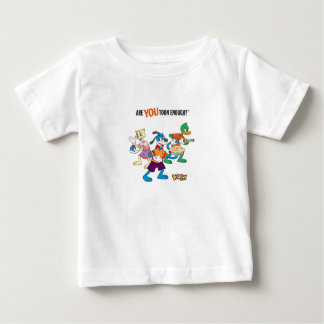 Toontown Flippy, Duck and Cat Are You Toon Enough Baby T-Shirt
