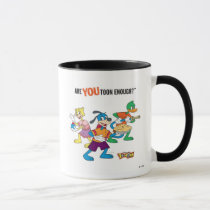 Toontown Flippy, Duck and Cat Are You Toon Enough Mug