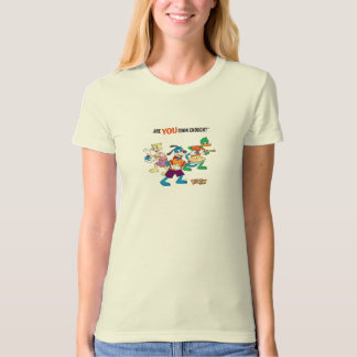 Toontown Flippy, Duck and Cat Are You Toon Enough Tee Shirts