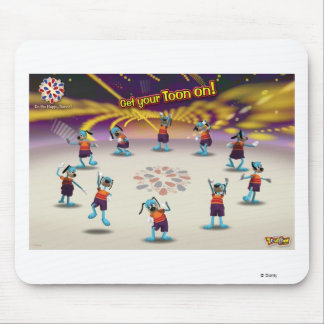 "Toontown ""Get Your Toon On!"" Poster Disney Mouse Pad"