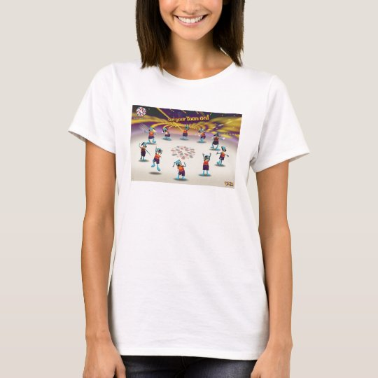 "Toontown ""Get Your Toon On!"" Poster Disney T-Shirt"