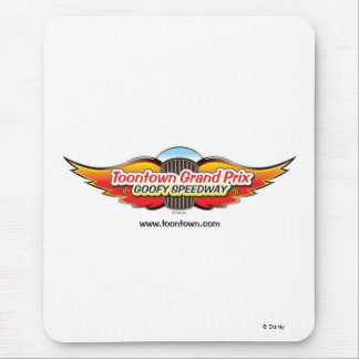 Toontown Grand Prix Goofy Speedway Mouse Pad