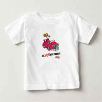 """Toontown Kart Racer """"Are you fast enough?"""" Disney Baby T-Shirt"""