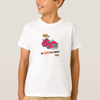 """Toontown Kart Racer """"Are you fast enough?"""" Disney T-Shirt"""
