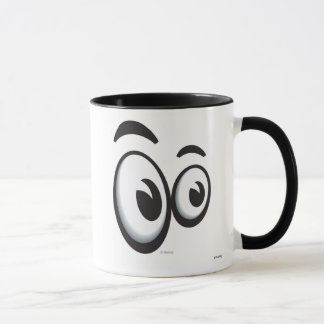 Toontown Large Eyes Logo Disney Mug