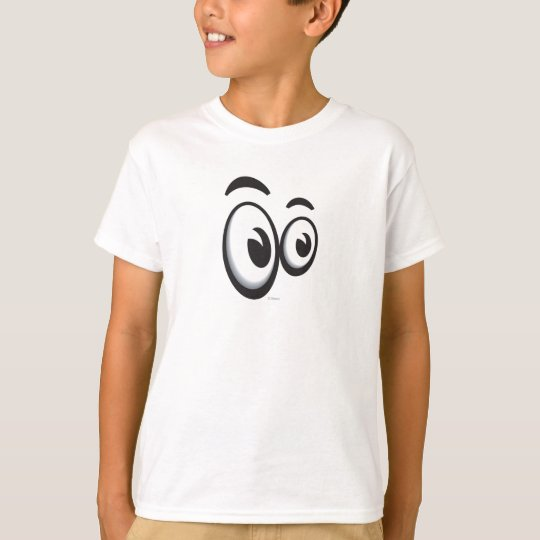 Toontown Large Eyes Logo Disney T-Shirt