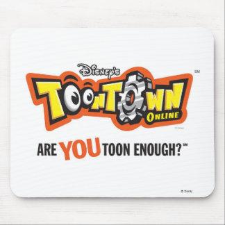 Toontown logo Disney Mouse Pad