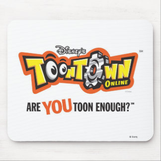 Toontown logo Disney Mouse Pad