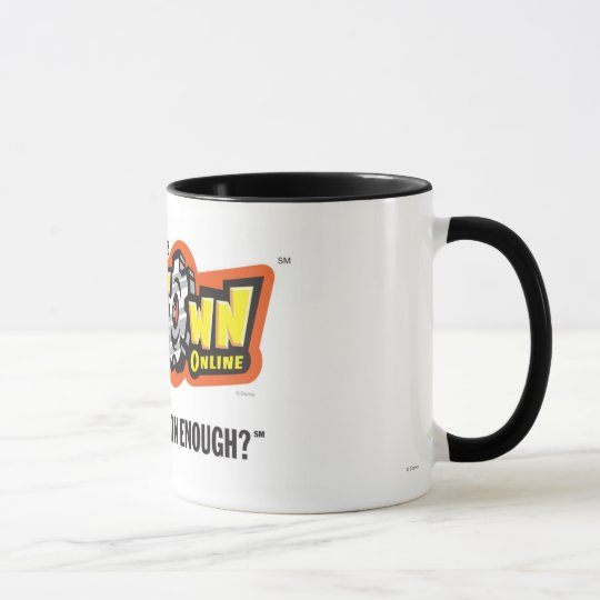 Toontown logo Disney Mug