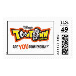 Toontown logo Disney Postage Stamp