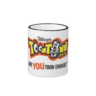 Toontown logo Disney Ringer Mug