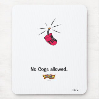 Toontown No Cogs Allowed TNT design Disney Mouse Pad