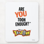 Toontown Official Logo Are You Toon Enough? Disney Mousepads