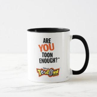 Toontown Official Logo Are You Toon Enough? Disney Mug