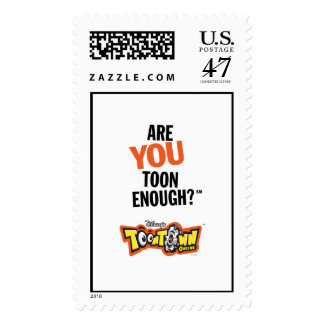 Toontown Official Logo Are You Toon Enough? Disney Postage