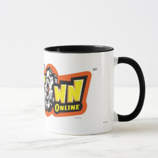 ToonTown Online logo Disney Mug