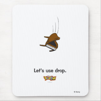 Toontown piano Disney Mouse Pad