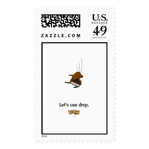 Toontown piano Disney Postage Stamps