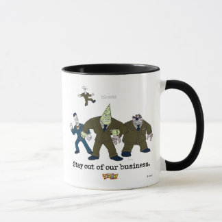 Toontown The Cogs Standing Disney Mug