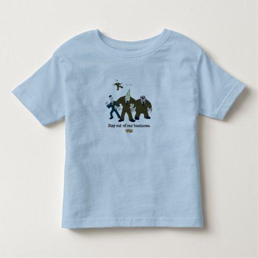 Toontown The Cogs Standing Disney Toddler T-shirt